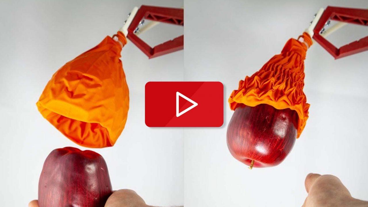 Origami robot kol
