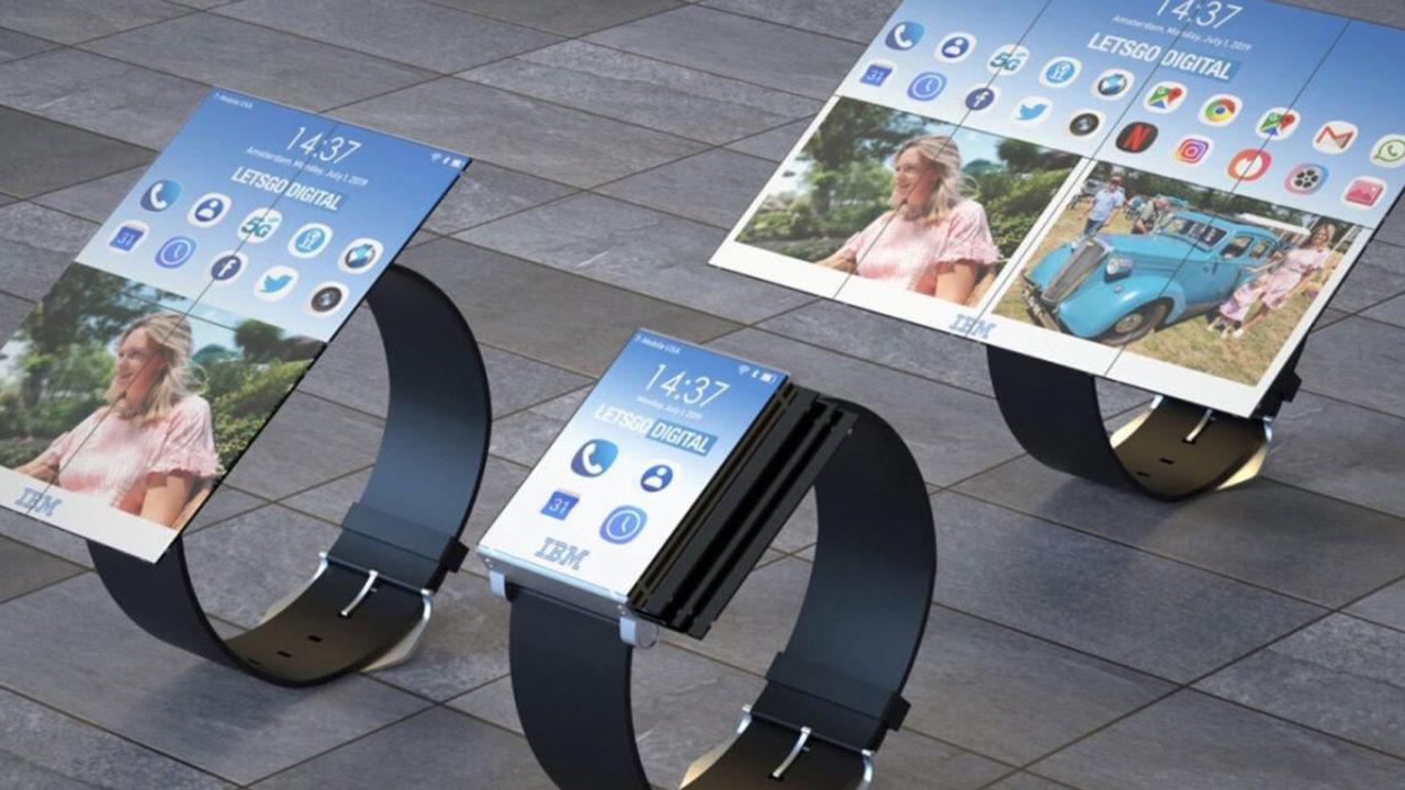 IBM tablete dönüşebilen akıllı saat patentini aldı