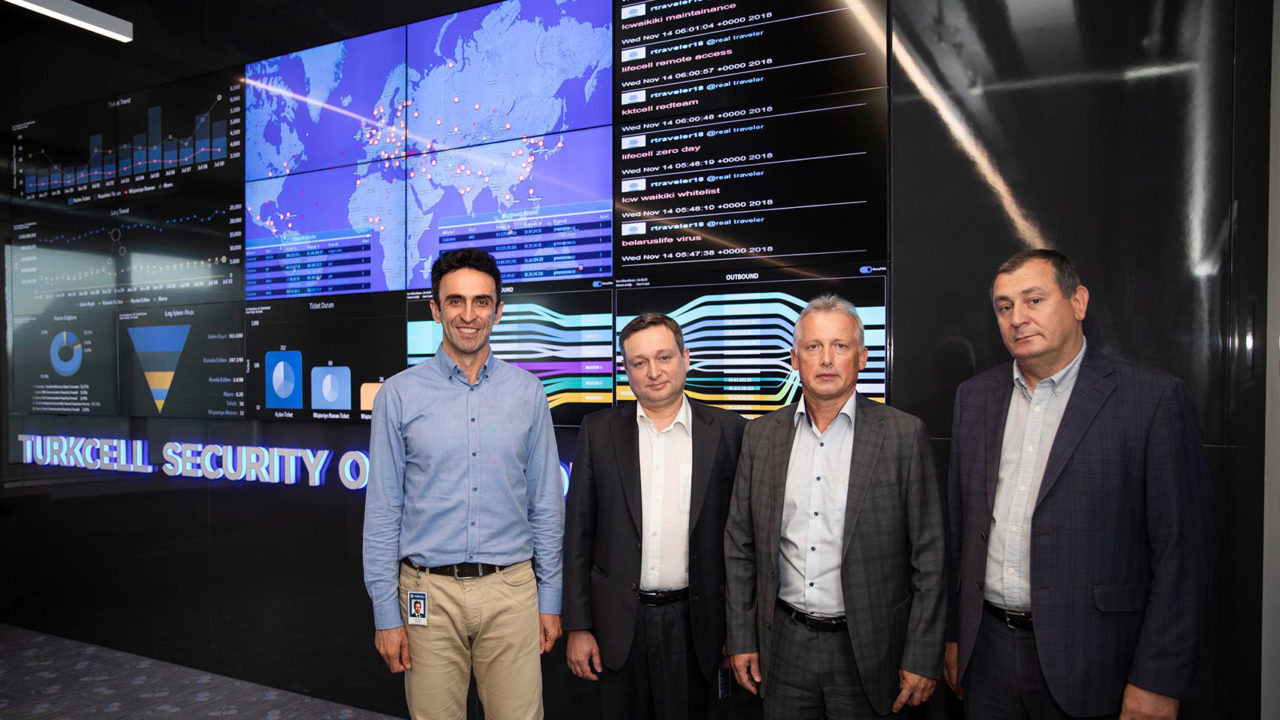 Turkcell'in güvenlik çözümleri Ukrayna'ya örnek oldu