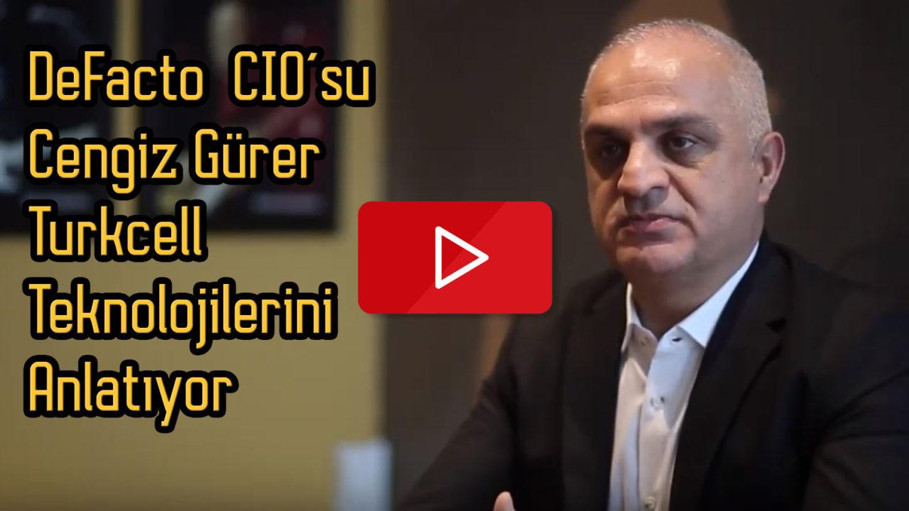 DeFacto CIO'su Cengiz Gürer ile teknoloji sohbeti