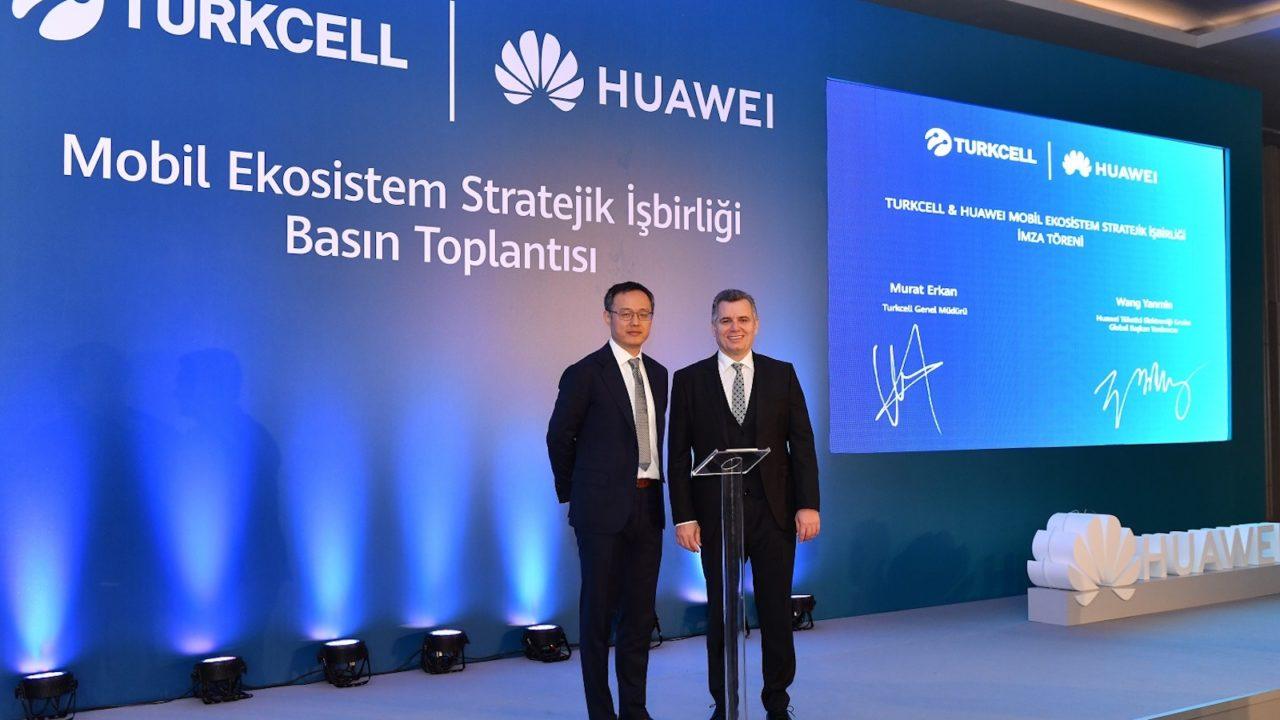 Turkcell ve Huawei, önümüzdeki dönemde 1 Milyon adet Huawei Mobil Servis destekli telefon satmayı hedefliyor