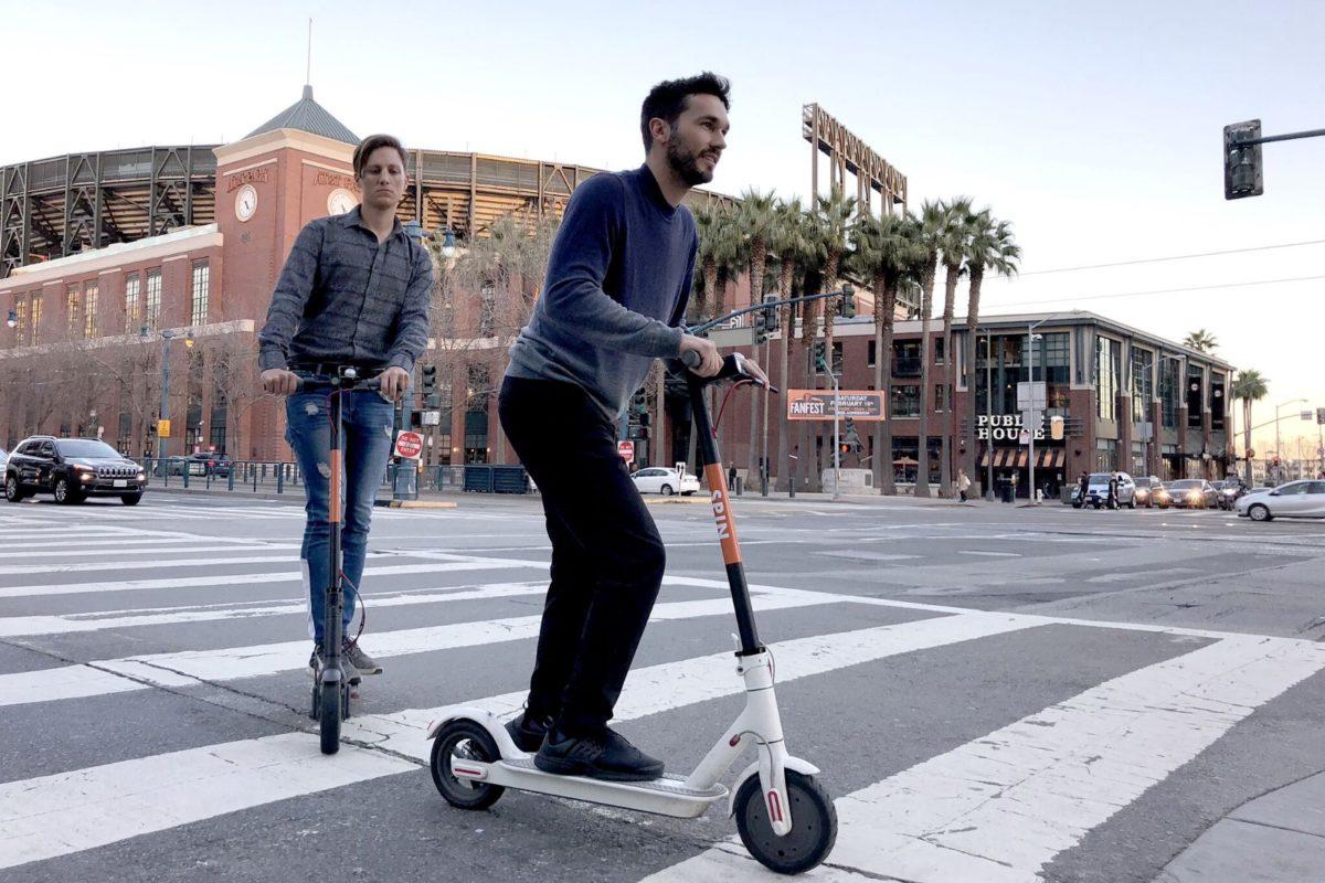 Ford'a ait Spin elektrikli scooter paylaşım servisi, Avrupa'ya geliyor